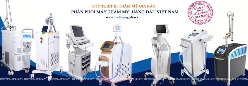 Phân phối máy spa thẩm mỹ hàng đầu Việt Nam
