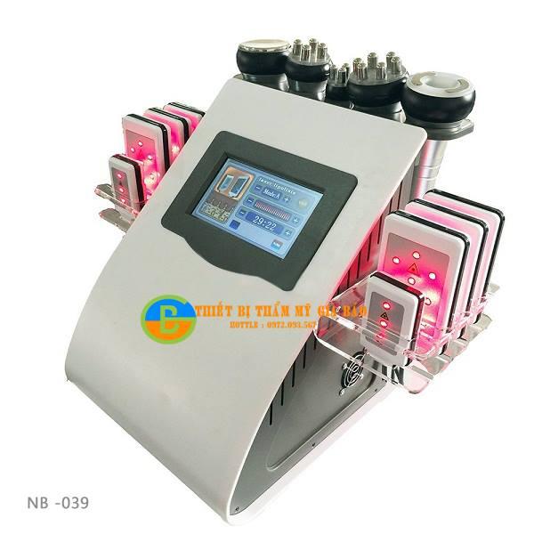 Máy Giảm Béo Cavitation Lipo RF Slimming Laser NB039