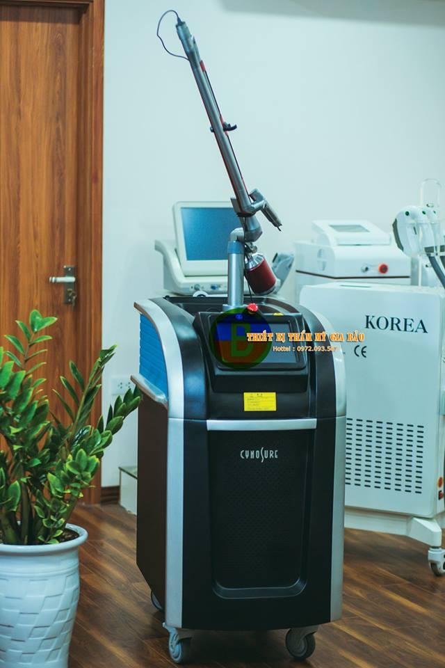 Máy Laser Trục Khuỷu - Laser Q Swithed ND Yag