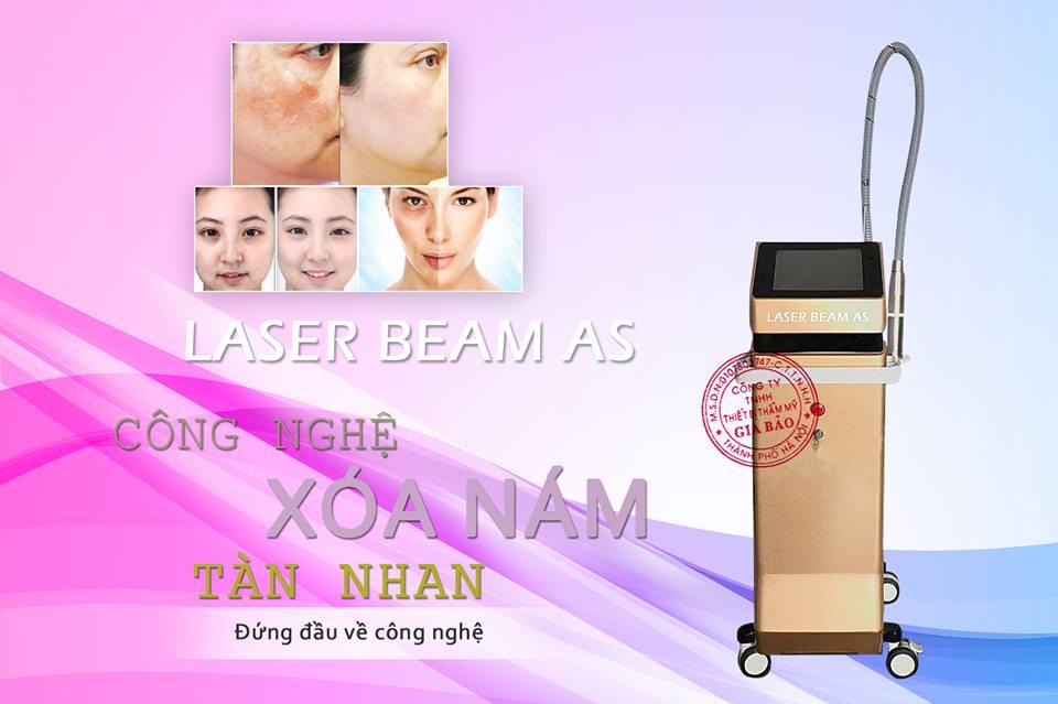 Máy Xóa Nám Tàn Nhang Laser Toning Beam AS88