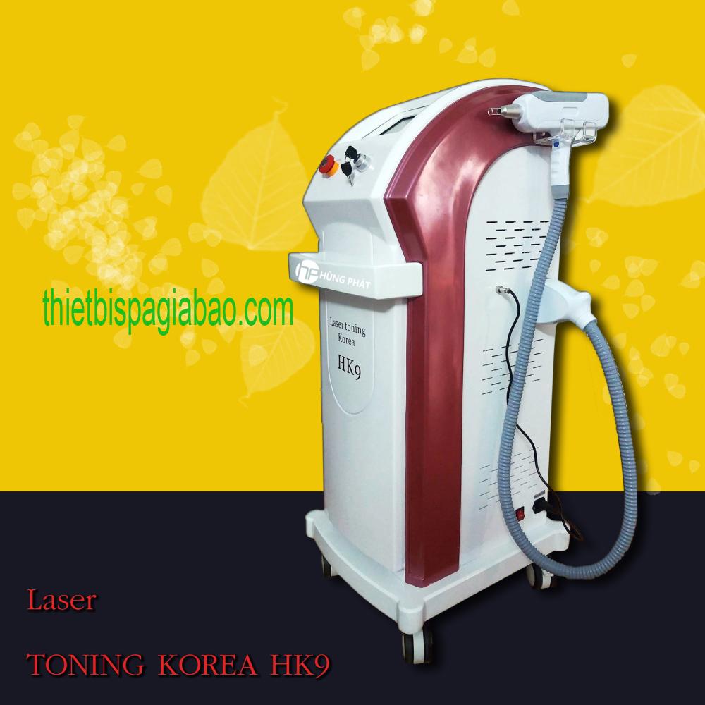 Máy Xóa Xăm Laser Toning Plus Korea HK9